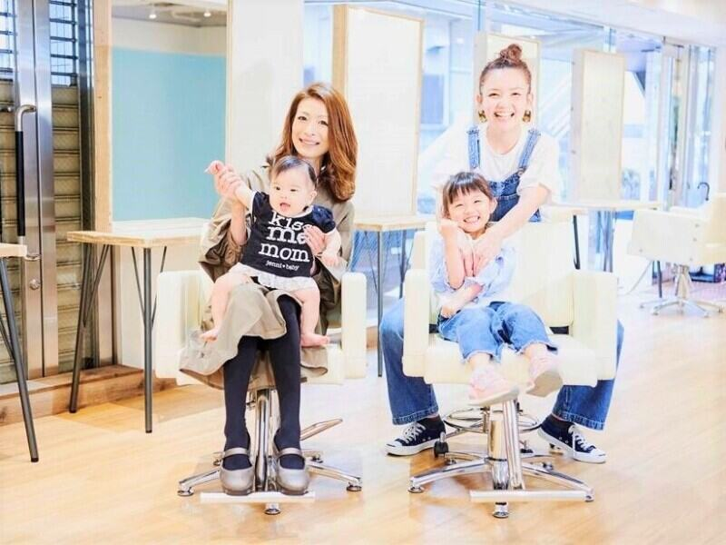 ママさん美容師もたくさん活躍しています♪